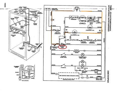 wiring diagram for a whirlpool refrigerator model