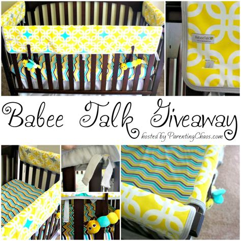 Talk Giveaways - babee talk bedding giveaway 187 living off love and coffee
