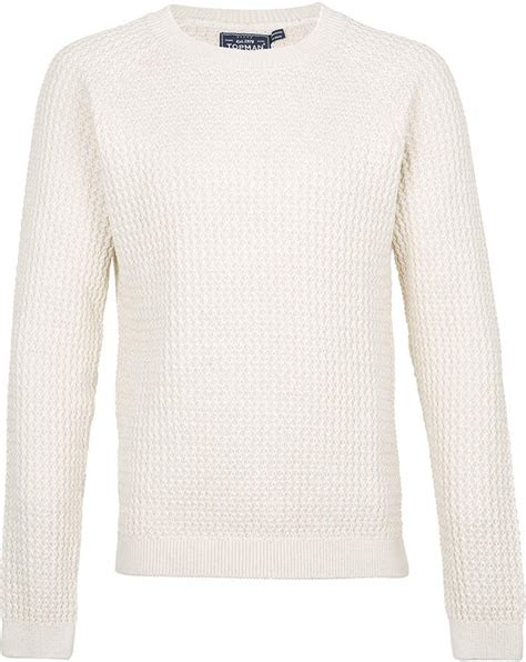 Sweater White Original Topman White V Stitch Sweater Where To Buy How To Wear