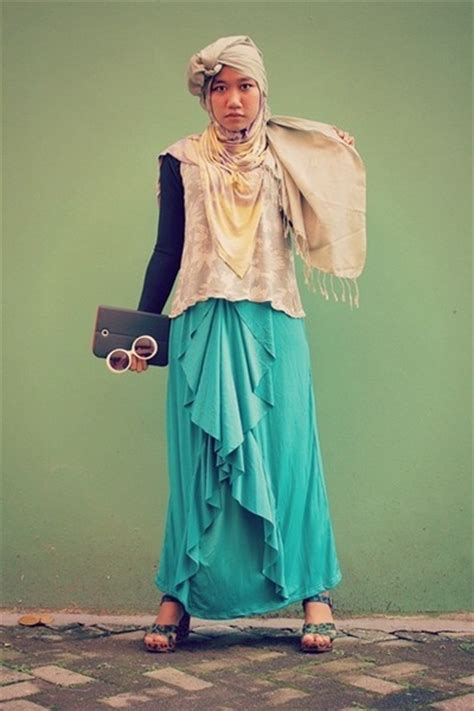 Ayomi Scarf maxi skirt local brand skirts yellow rainbow yellow dian pelangi scarves quot i did mix they