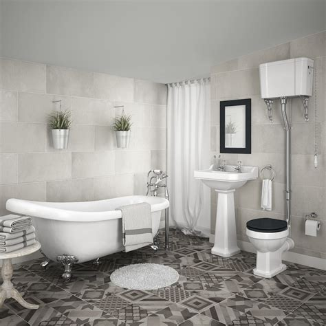 traditional contemporary bathrooms uk carlton high level bathroom suite roll top bath