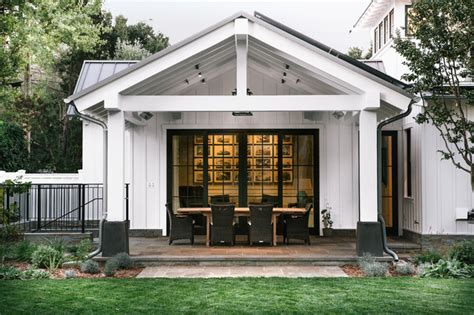 modern farmhouse menlo park menlo park craftsman farmhouse porch san francisco