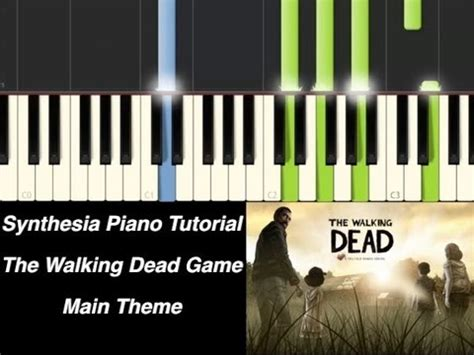 piano tutorial up theme piano tutorial the walking dead game main theme