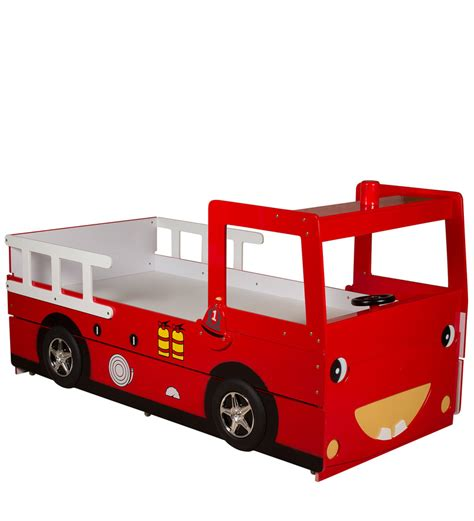 fire engine bed buy fire engine bed with trundle in red colour by child