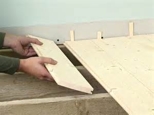 Installing Tongue And Groove Flooring by How To Install Tongue And Groove Flooring Alyssamyers