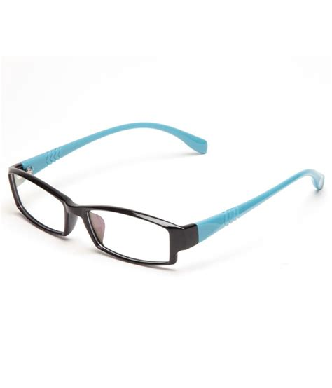 glitters black light blue unisex eyeglasses buy glitters