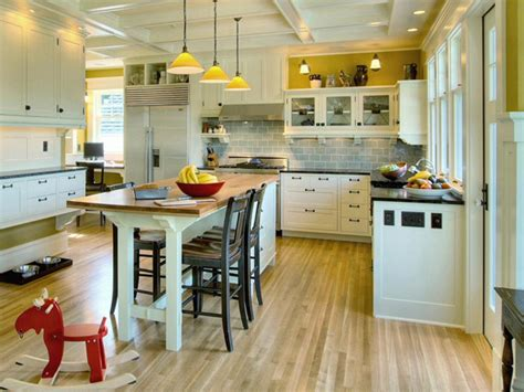 Kitchen Island With Table Kitchen Island Table Combination A Practical And Functional Homesfeed