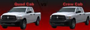 Dodge Ram Crew Cab Vs Cab Difference Between Dodge Ram Cab And Crew Cab Autos