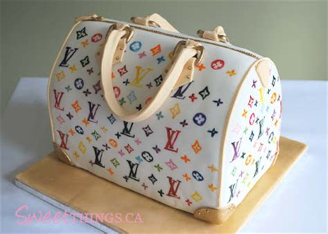 lv pattern for cake sweetthings louis vuitton purse cake