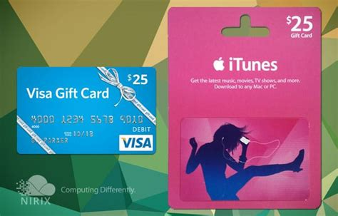 How To Use Visa Gift Card For Itunes - june gift card give away nirixnirix