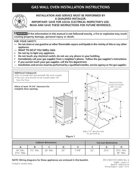 79047899602 Wall Oven Wiring Diagram - Wiring Diagram Networks