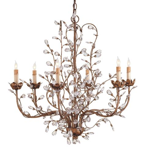 Currey And Company Bud Chandelier currey and company 9882 bud six light chandelier