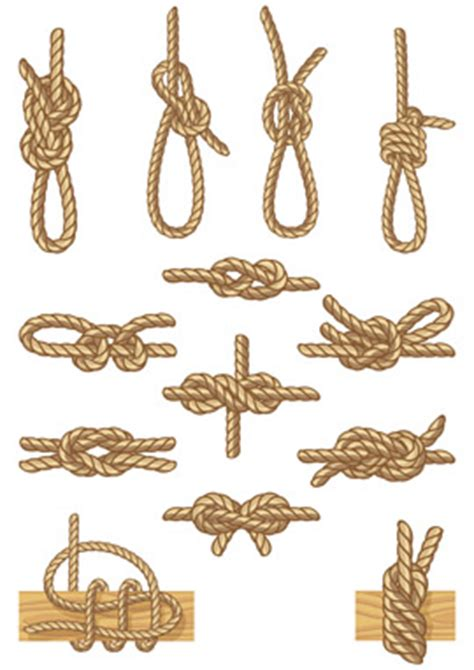 common boat knots rope work