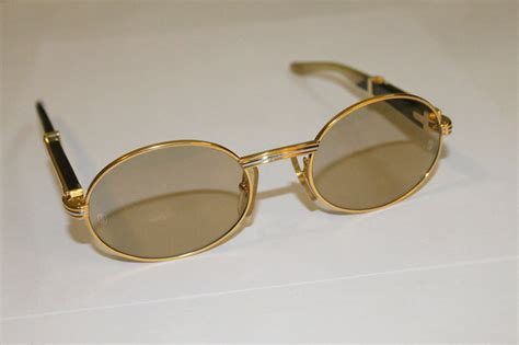 cartier half sunglasses wood frame louisiana