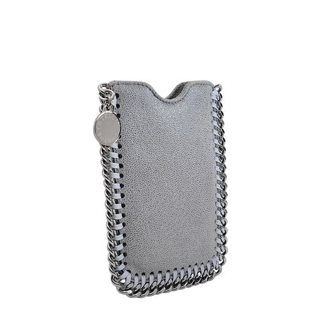 Stella Mccartney 5 stella mccartney iphone 5 in silver brown lyst