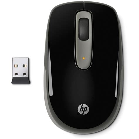 Mouse Wireless Merk Hp hp wireless mobile mouse black lk006aa aba b h photo