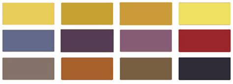 colors that match brown 6 modern decorating color combinations yellow paint color