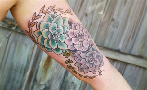 newspaper themed tattoo 21 plant themed tattoos all nature lovers need to see