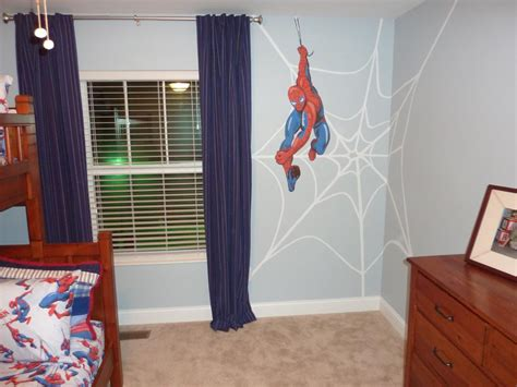 boys spiderman bedroom ideas micah and aiden on pinterest superhero room superhero