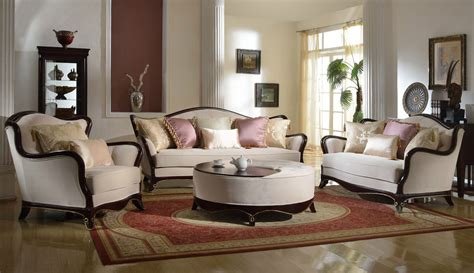 Formal Living Room Sofas Provincial Formal Living Room Furniture Set Sofa Loveseat Exposed Wood Ebay