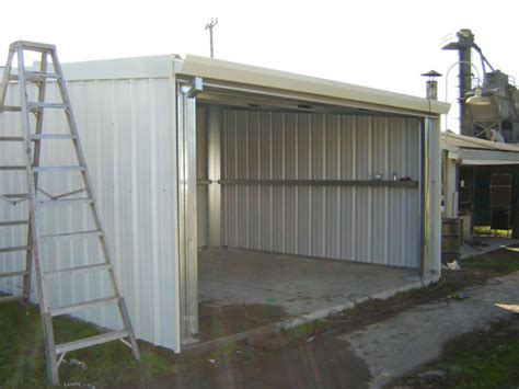 Steel Structure Shed by Free How To Build Small Metal Shed Goehs