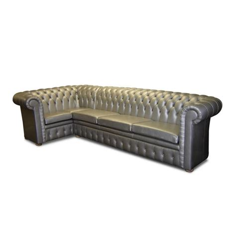 leather chesterfield corner sofa corner sofa chesterfield leather 4 seater kingsgate alley cat themes