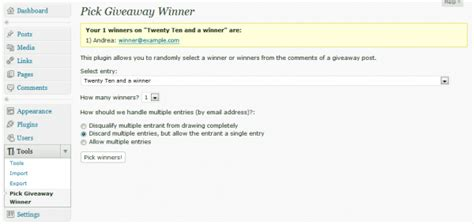 How To Pick A Winner For A Giveaway - how to run a contest on wordpress elegant themes blog