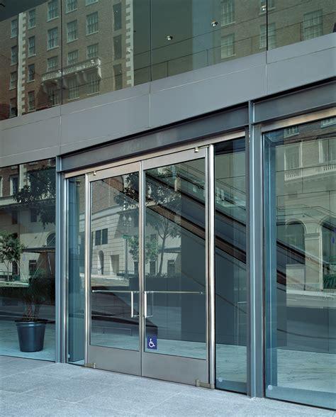 Tempered Glass Door Ellison Bronze Tempered Glass Doors With Narrow Stile Larsono Brien Pressroom