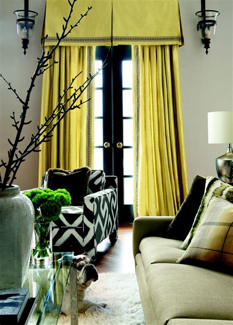 yellow silk drapes by unique fabrics travers colibri yellow silk curtains