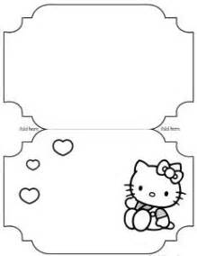 black and white birthday card template free hello coloring printables thinking for graces