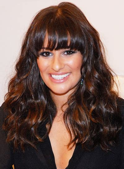 long thick hairstyles with bangs beauty riot