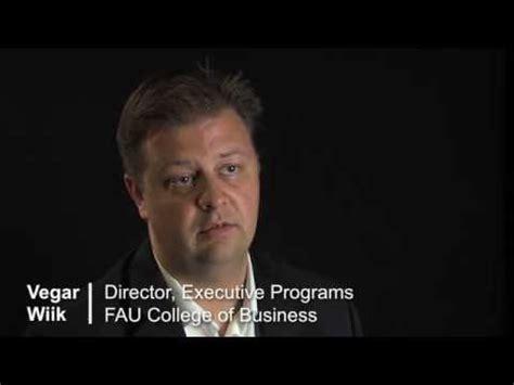 Ucc Mba Application by Fau Executive Education Executive Mba Program
