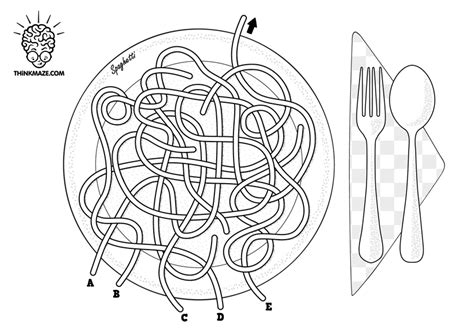 printable labyrinth maze spaghetti maze thinkmaze com beautiful mazes on the web
