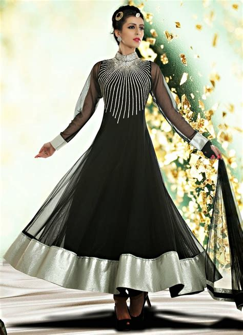 dress design indian 2015 indian royal wedding wear long anarkali dresses 2014