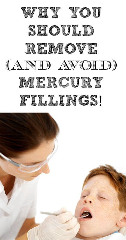 Mercury Filling Removal Detox by Why You Should Remove And Avoid Mercury Fillings