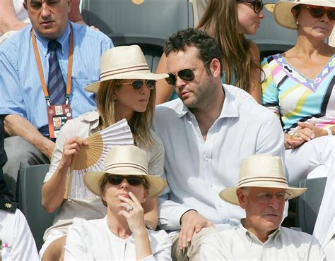 Vince Vaughn At Anistons Birthday by Aniston Photos Photos Aniston And