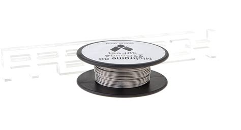 Vaportech Kanthal Wire Nichrome 80 10m 4 82 nichrome 80 resistance wire for rebuildable atomizers 22 awg 0 64mm 10m 0 11ohm cm