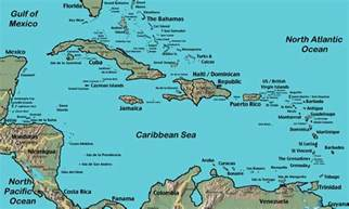 map of eastern us and caribbean finally our caribbean route
