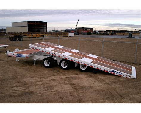 tilt bed trailers 2018 trailmax trd 54 t 17 5 tilt trailer for sale