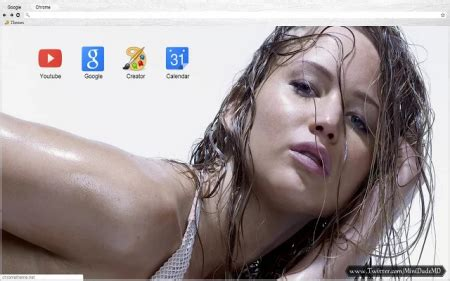 google chrome themes jennifer lawrence 12 celebrity chrome themes to prove you are a real fan