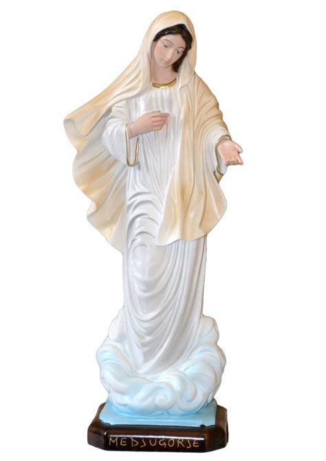 madonna medjugorje illuminata statua madonna di medjugorje spedizione gratis