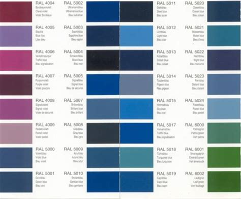 ral chart blue ral colour chart ayucar
