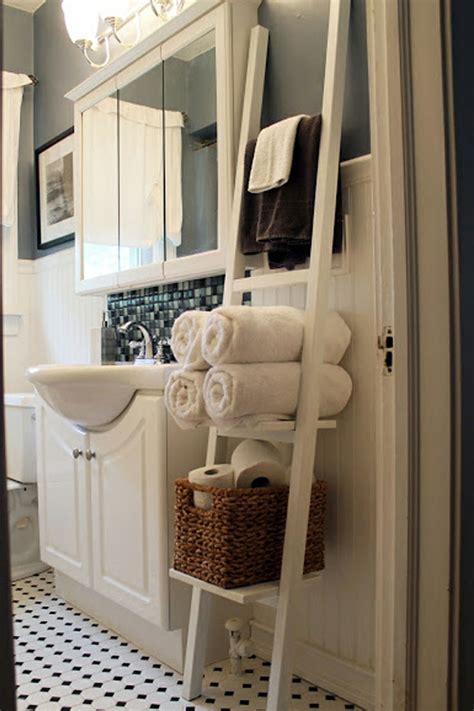 Superbe echelle pour salle de bain #1: porte-serviette-de-salle-de-bain-original.jpg