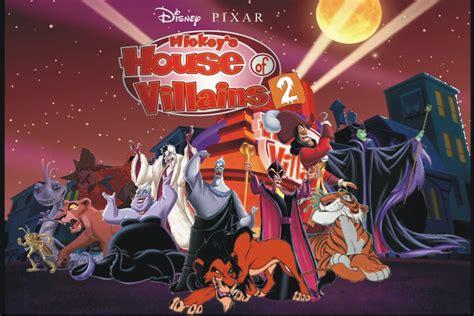 House Of Villains by Disney Pixar S Mickey S House Of Villains 2 Disney Fan