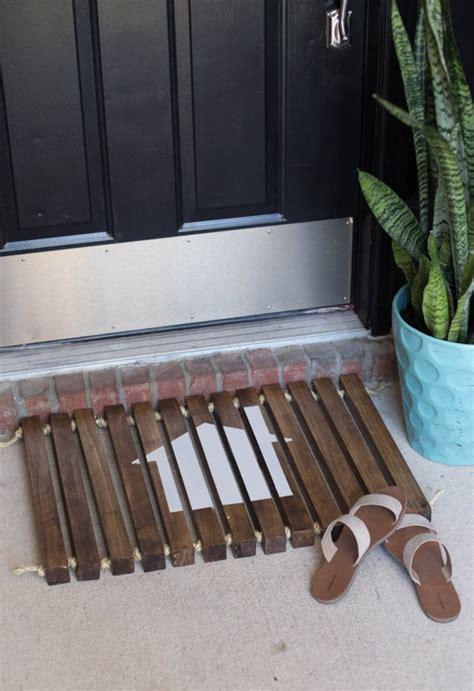 Wood Doormat by Diy Wooden Doormat Customize A Wooden Doormat