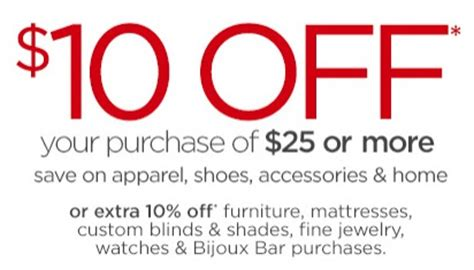 jcpenney printable coupons 10 off 25 2013 jcpenney coupon 10 off 25 purchase in store only