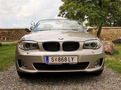 Bmw 1er Cabrio Leergewicht by Bmw 118d Cabrio Testbericht Autoguru At