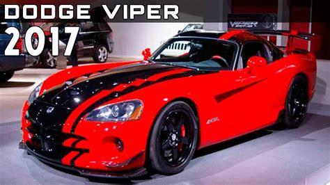 dodge viper price 2017 2017 dodge viper review rendered price specs release date