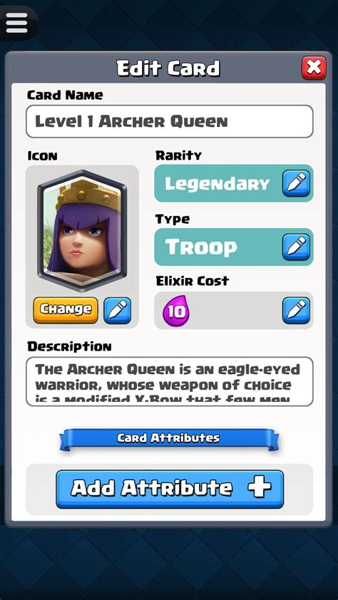 card editor card creator for clash royale de apps f 252 r android