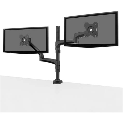 dual monitor desk mount dual monitor stand vivo dual monitor mount extra tall